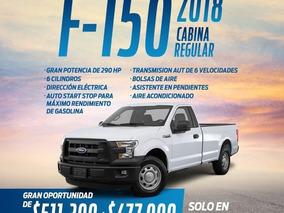 Ford F-150 3.5 Cabina Regular V6 4x2 At 2018