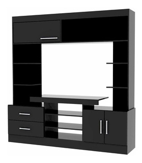 Modular Mueble Rack Mesa Tv Para Led Fiplasto Mo7201