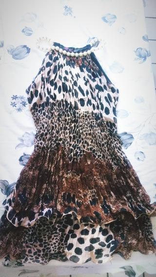 Vestido Plissado