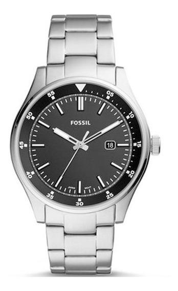 Relógio Fossil Masculino Prata Fs5530/1kn