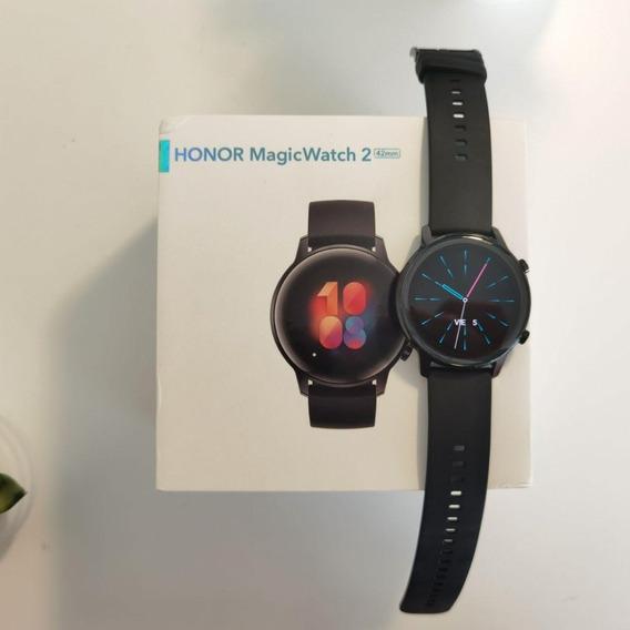 Honor Magic Watch 2 (42mm) - Smartwatch - Agate Black