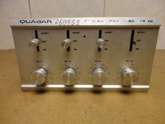 Mixer Quasar Q M 440 Antigo Anos 80 No Estado