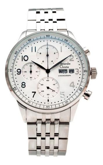 Reloj Alexandre Christie Sport Crono 6492mcbssslse
