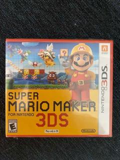 Super Mario Maker Nintendo 3ds Nuevo Sellado