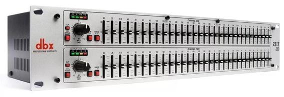 Equalizador Dbx 231 S