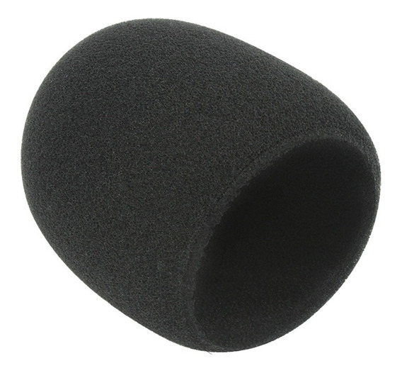Espuma Protetora Para Microfone Pequena Performance Sound