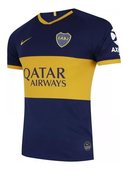 Camisa Do Boca Juniors I - 2019/20 - Frete Grátis