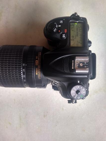 Nikon D7200 Com Lente 18 140mm