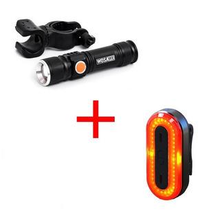Luces De Bicicleta Wosawe 800 Lumens Mas Xanes 100 Lumens