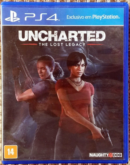Uncharted The Lost Legacy Ps4 100% Português Físico Seminovo