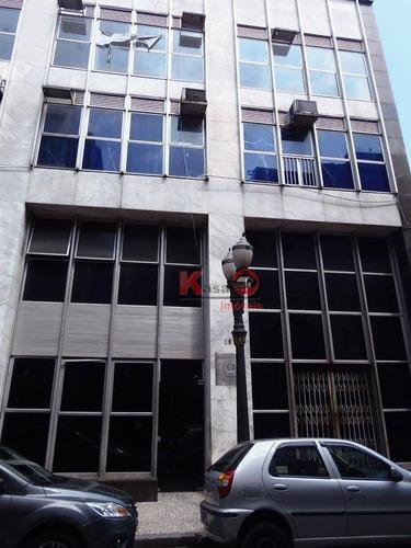 Imagem 1 de 18 de Andar Corporativo Para Alugar, 300 M² Por R$ 20.000,00 - Centro - Santos/sp - Ac0003