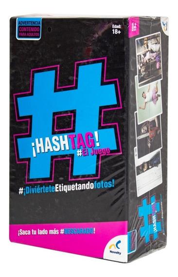 Hashtag Juego Mesa Amigos Celular Diversión Novelty Envío