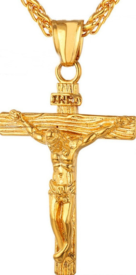 Corrente Colar Codão Crucifixo / Colar Terço