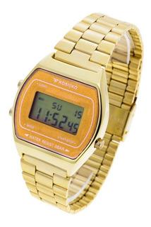 Reloj Kosiuko Hombre 7841 122 Wr Digital Vintage Metal