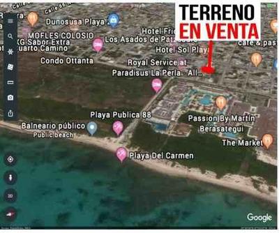 Oportunidad Inversionistas Terreno A 500 Metros De La Playa