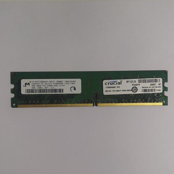 Memoria Ram Ddr2 2 Gb 667 Mhz - Intel