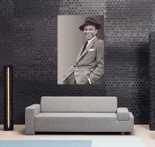 Cuadro 50x75cm Frank Sinatra La Voz Leyenda