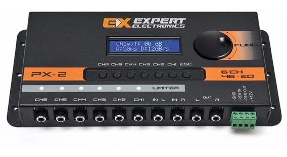 Processador De Audio Px2 Bluetooth Expert Crossover Connect