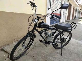 Bicicleta Motorizada Motor 2t 80cc Usada