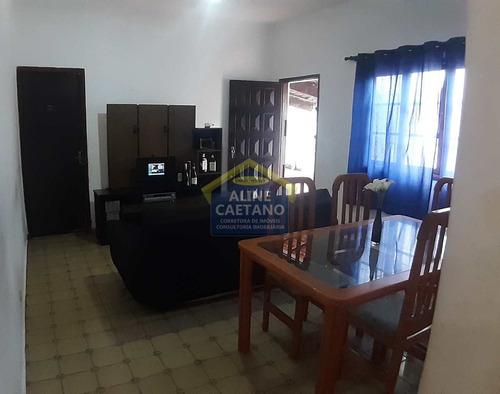 Casa 3 Dorms, Tupi, Praia Grande - R$ 330 Mil - Vact1287