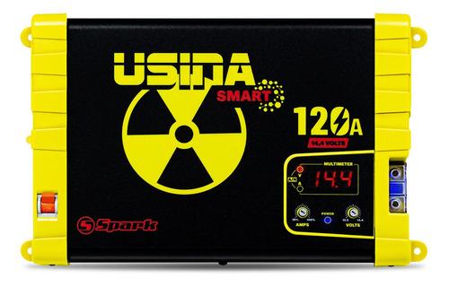 Imagem 1 de 6 de Fonte Carregador Usina Spark 120a Volt/amp Modelo Novo 2021