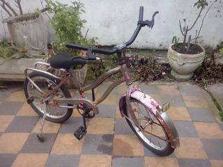 Bicicleta De Niña Talla Mediana