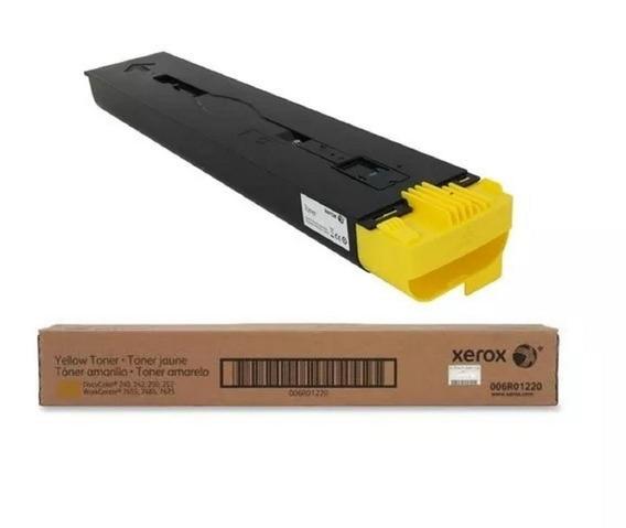 Toner Xerox 006r01220-no Amarelo Original # Frete Grátis
