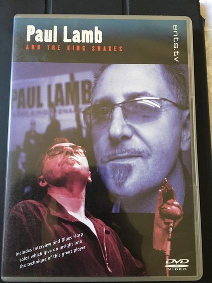 Dvd Paul Lamb - Blues Inglês