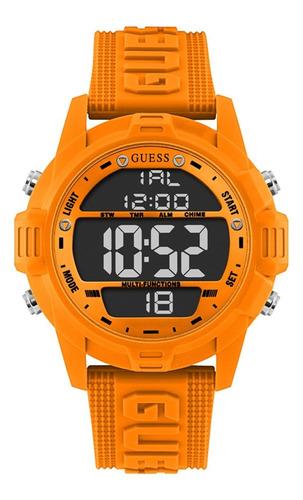 Reloj Para Hombre Guess Charge Color Naranja Gw0050g3