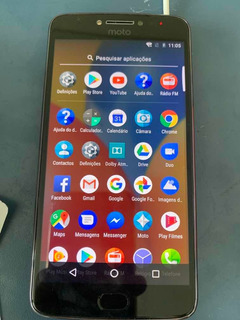 Celular Smartphone Motorola Moto E4 Plus - Trocar Bateria