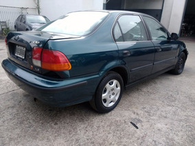 Honda Civic Lx 1997 4p *chocado* 1.6