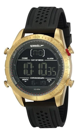 Relógio Speedo Masculino Ref: 15021gpevdi2 Digital Dourado
