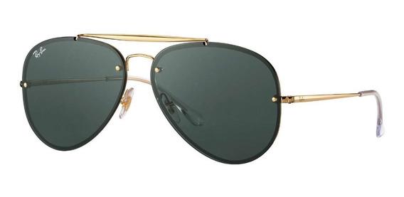 Óculos Ray Ban Aviador Blaze Rb3584 Feminino Masculino