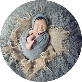 6 Wraps + 6 Toucas Newborn Fotografia Props Bebe Fotos