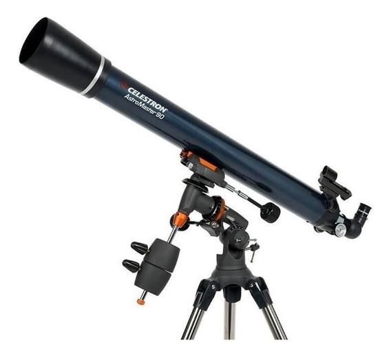 Telescópio Refrator Astromaster 90eq Celestron Equatorial