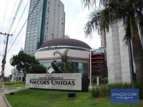 Laje Comercial Para Alugar, Brooklin, São Paulo. - Lj0106