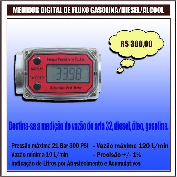 Contador De Gasolina/diesel/água/químicos Digital