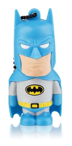 Pendrive Multilaser PD093 8GB Batman (Classic) azul-celeste/cinza