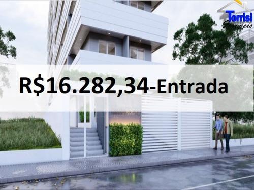 Imagem 1 de 15 de Apartamento Em Praia Grande, 01 Dormitório, Canto Do Forte, Ap02923 - Ap02923 - 69905462