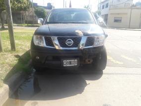 Nissan Frontier 2.5 4x4 Doble Cabina Chocada Funciona Todo