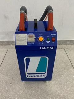 Máquina Portátil De Arrematar Fio E Linha Com 2 Cabeças