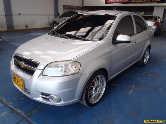 Chevrolet Aveo Emotion F.e