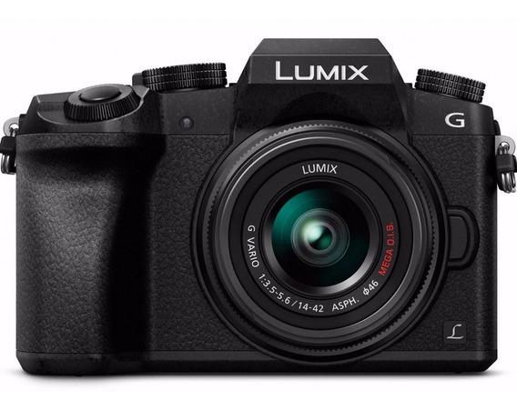 Cámara Panasonic Lumix G7 4k Lente 14-42mm 16megas A Pedido!