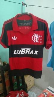 Camisa Flamengo Retrô Dos Anos 80