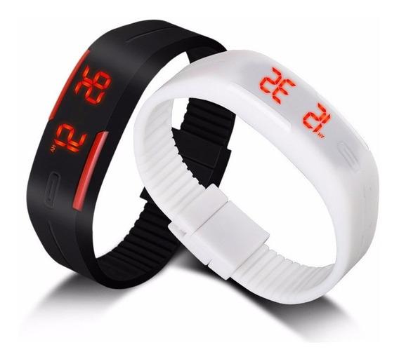 Bracelete Relógio Masculino Fem Digital Led Promoção Barato