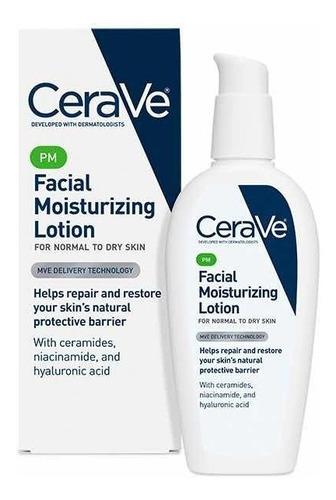 Crema Facial Cerave Nocturna Hidratante Moisturizing Lotion