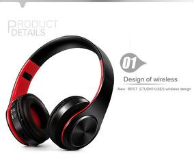 Fone De Ouvido Estéreo Dobrável Bluetooth-frete Grátis
