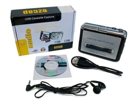 Larryjoe Captura De Cassete Usb, Conversor Super Portátil