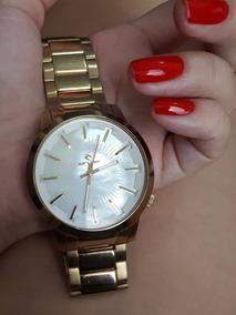 Relógio Rip Curl Detroit Dourado Feminino Usado