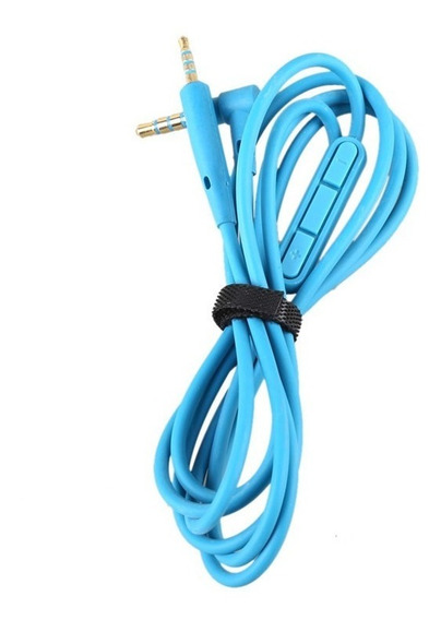Cabo Azul Fone Bose C Mic E Volume Oe2 / Qc20 / Qc25 On Ear